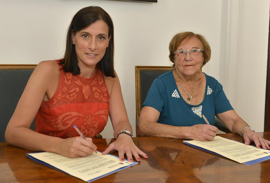 Santander renueva su colaboración con los programas y servicios de AMPROS para personas con discapacidad intelectual