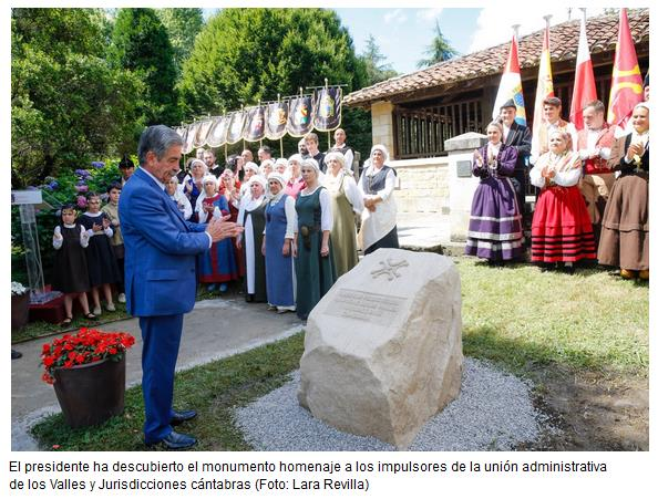 """Revilla pone a Cantabria como ejemplo de """"sensatez"""" y de """"pactos lógicos"""" frente a la inestabilidad política nacional"""