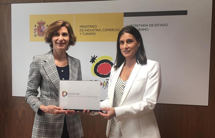Santander recibe el distintivo de destino turístico inteligente de la Secretaría de Estado de Turismo