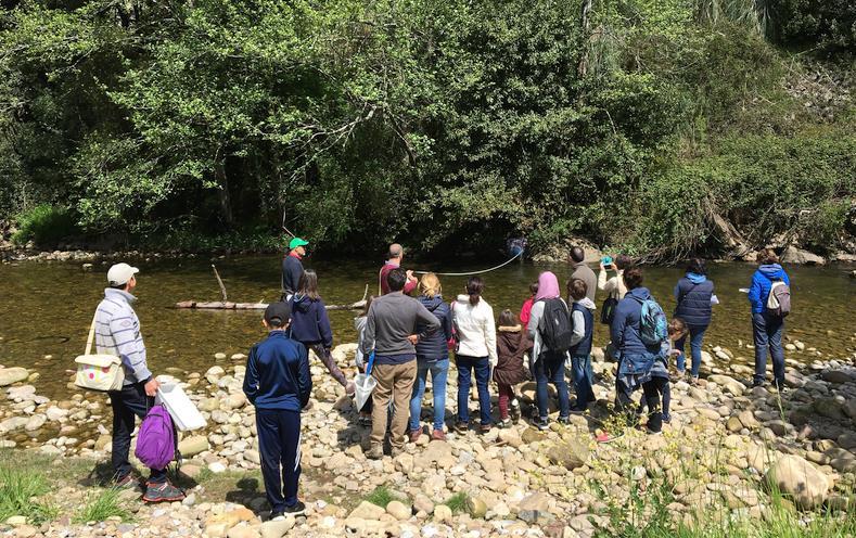 Red Cambera busca voluntarios para conocer el estado de los ríos de Cantabria