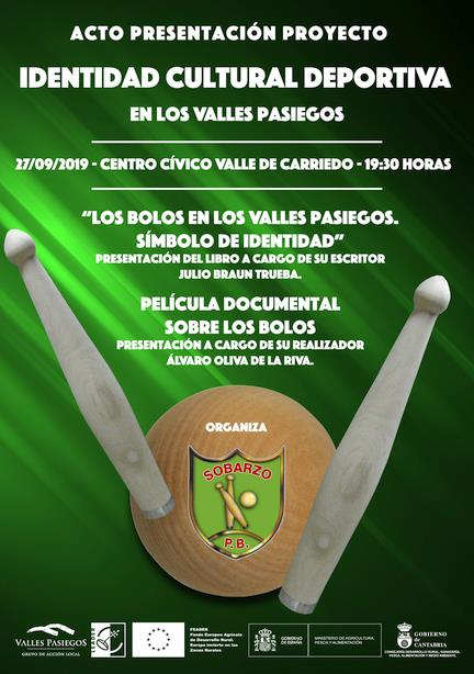 La Peña Bolística Sobarzo presenta un libro y un documental sobre la identidad cultural deportiva en los Valles Pasiegos