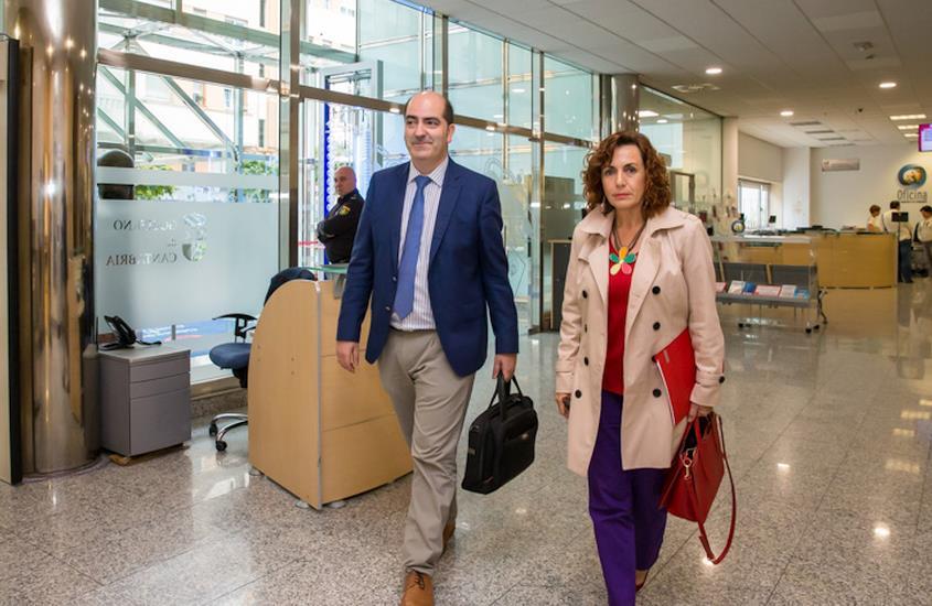"""El Gobierno reconoce que los datos del paro """"no son buenos"""" pese a ser """"los más bajos desde 2008"""" - Foto Raúl Lucio, gobierno de Cantabria"""