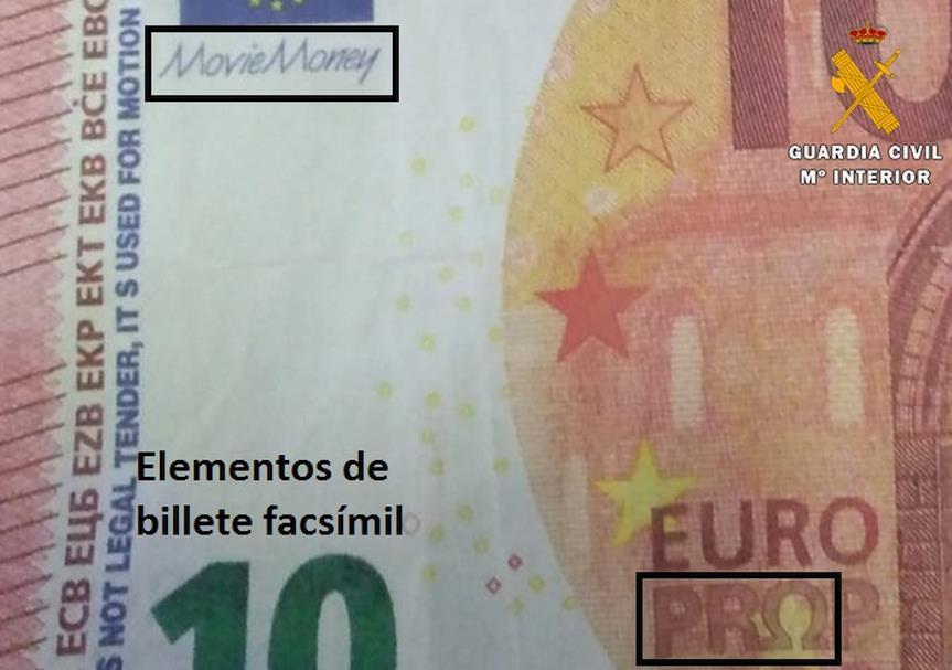 La Guardia Civil investiga la procedencia de billetes falsos localizados en Castro Urdiales