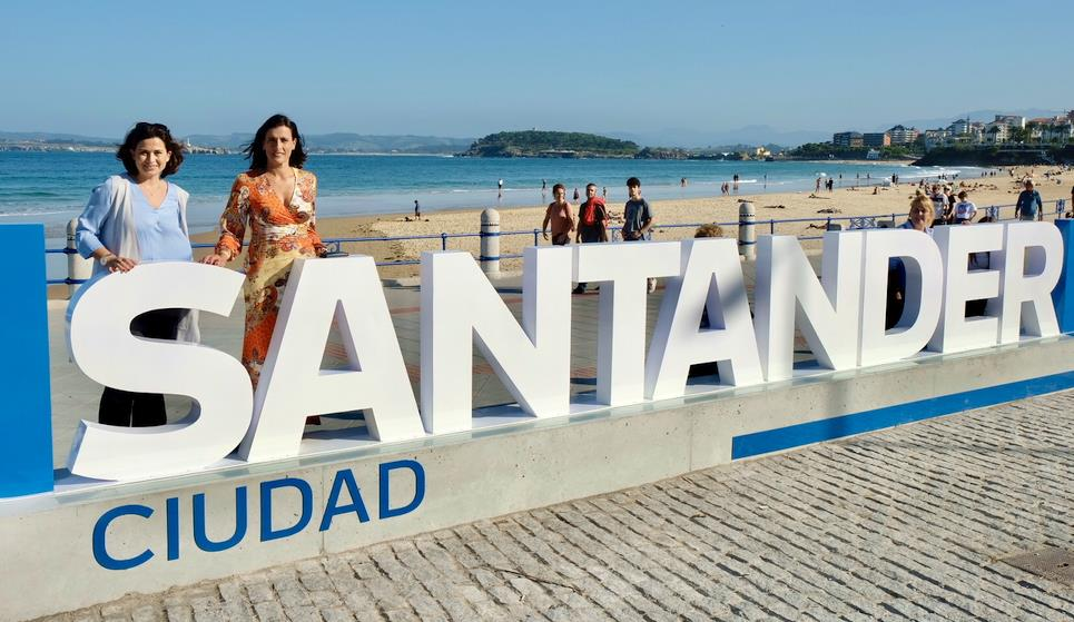 Santander estrena recurso turístico en el paseo de la Segunda Playa del Sardinero