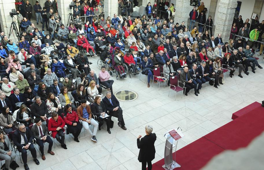 El Parlamento de Cantabria acoge un acto de CERMI con motivo del Día de las Personas con Discapacidad