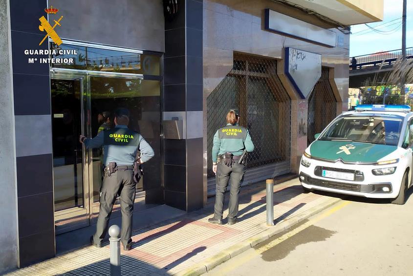 La Guardia Civil detiene al presunto autor de un robo con violencia cuya víctima recibió cirugía maxilo facial