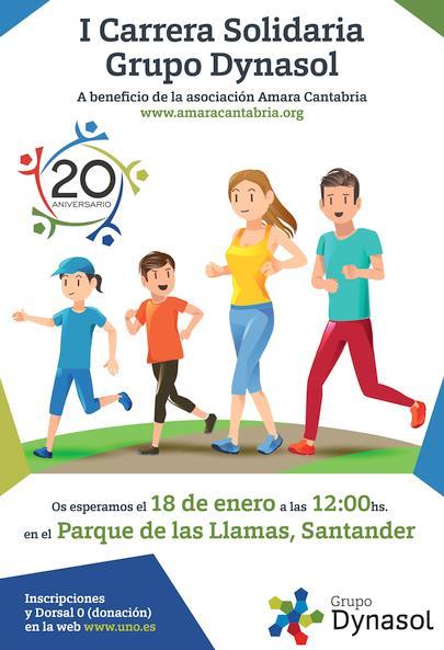 Santander corre contra el cáncer infantil simultáneamente con Ciudad de México y Houston