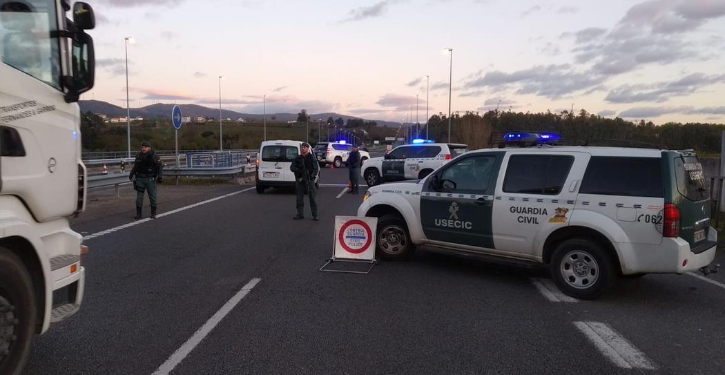 Las Fuerzas y Cuerpos de Seguridad intensifican los controles en Cantabria para evitar desplazamientos