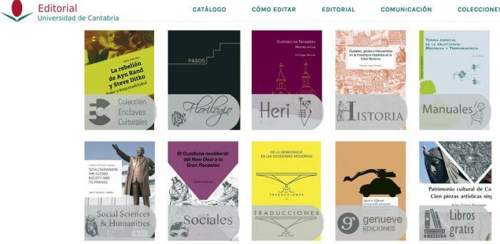 La Editorial UC ofrece libros digitales y de descarga gratuita