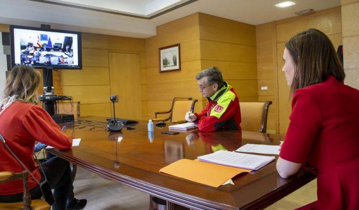 Cantabria pide más medios frente al coronavirus e incorporar los servicios de bomberos y de rescate