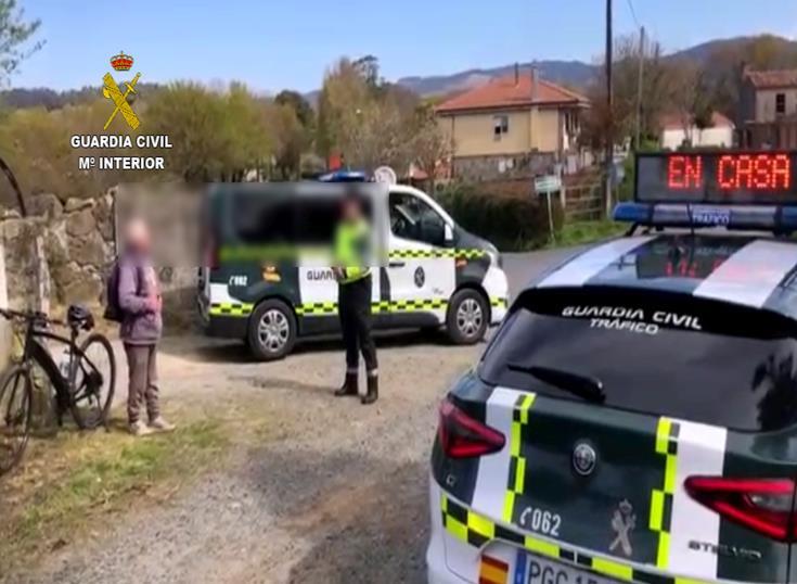 Denunciado en A Coruña un ciclista de 82 años que se encontraba a 10 kilómetros de su casa