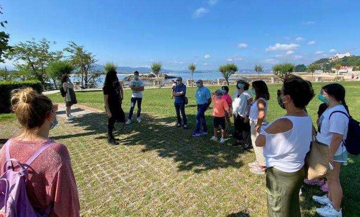 Santander inaugura una ruta geológica en el entorno de la Península de La Magdalena