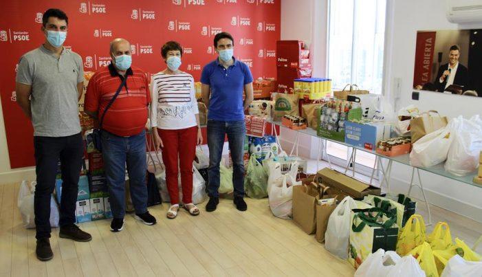 El PSOE anima a colaborar en la campaña de recogida solidaria de alimentos