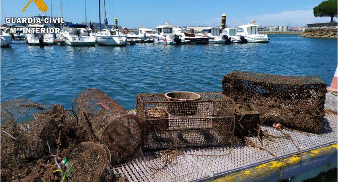 Desmantelado un vivero clandestino ubicado en el Puerto Deportivo Marina del Cantábrico de Camargo