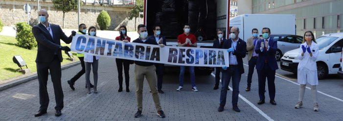 Sanidad y 'Cantabria Respira' lanzan una campaña sobre la importancia del distanciamiento para frenar la pandemia