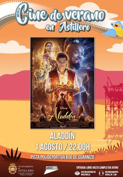 'Aladdin' este sábado en la pista polideportiva de Boo de Guarnizo