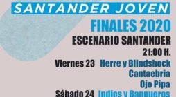 Los grupos 'Herre y Blindshock', 'Cantaebria', 'Ojo Pipa', 'Indios y Banqueros', 'Cabx' y 'Marama 738', finalistas del concurso musical Santander Joven