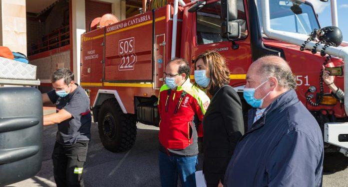 Cantabria prevé invertir 800.000 euros en nuevos medios para sus parques de emergencias