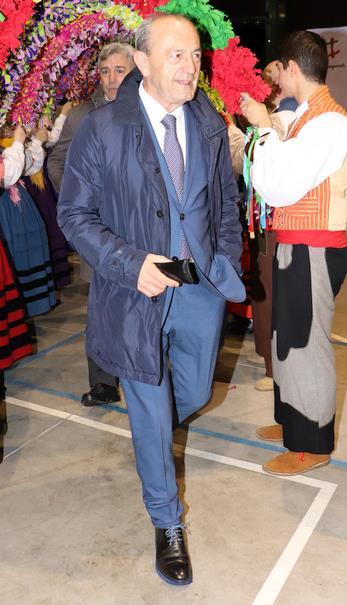 -En la imagen de archivo Javier López Marcano durante el acto del 125 aniversario de Torrelavega como ciudad, de la que también fue alcalde - (C) David Laguillo