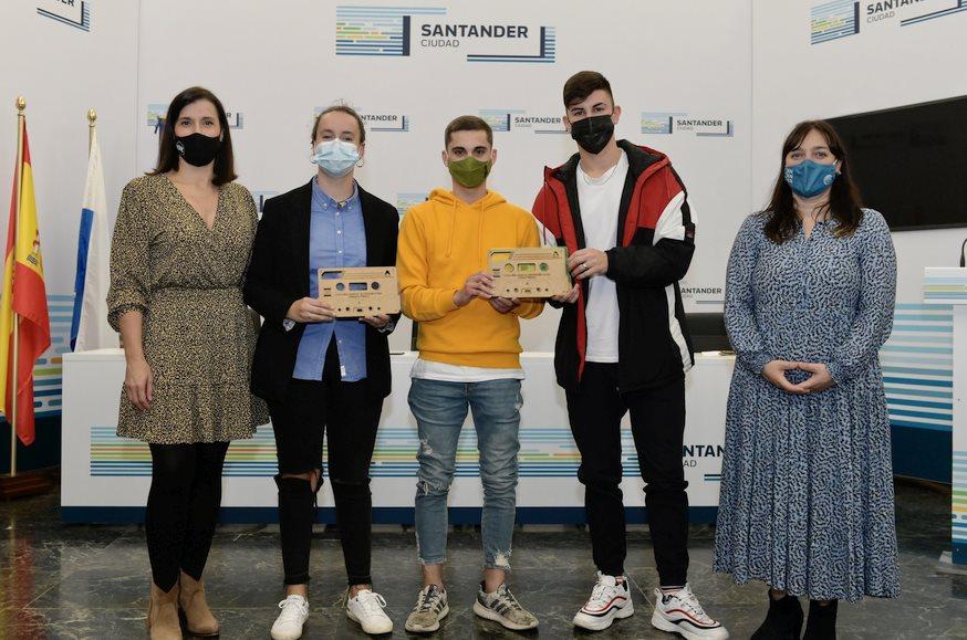 Los ganadores del concurso musical 'Santander Joven' lanzan mañana sus temas en distintas plataformas