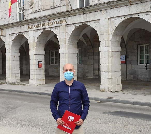 IU reclama al Gobierno de Cantabria que acuda a la Justicia tras el escándalo de los sobresueldos irregulares en MARE