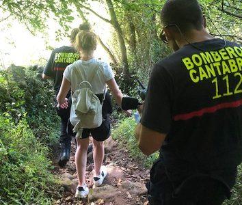 Rescatada una senderista enriscada y desorientada en el monte Buciero