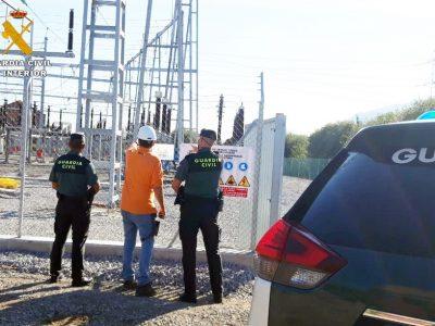 Detenido por robar cincuenta kilos de cobre en la subestación eléctrica de El Astillero