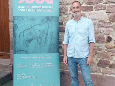 José Manuel Maíllo, doctor en Prehistoria de UNED