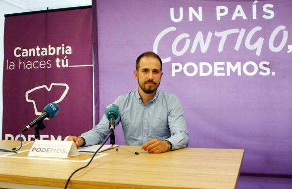 """Luis del Piñal - Podemos llevará la Ley del Suelo de Cantabria a los tribunales si el Gobierno Autonómico no modifica sus """"ilegalidades"""""""
