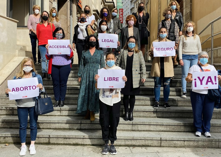 CCOO de Cantabria reivindica un aborto legal, libre, accesible y seguro